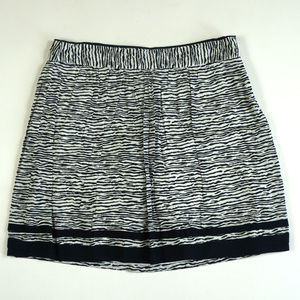 LOFT Straight Size 8 Knee Length Zebra Print Skirt